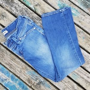 🌾3 for $50 ♡ GAP low rise crop distressed jean